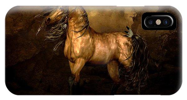 Native iPhone Case - Shikoba Choctaw Horse by Shanina Conway