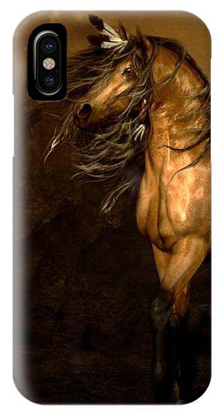 iPhone Case - Shikoba Choctaw Horse by Shanina Conway
