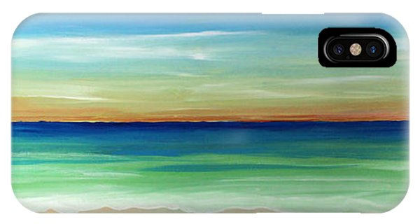 Shimmering Sunset IPhone Case