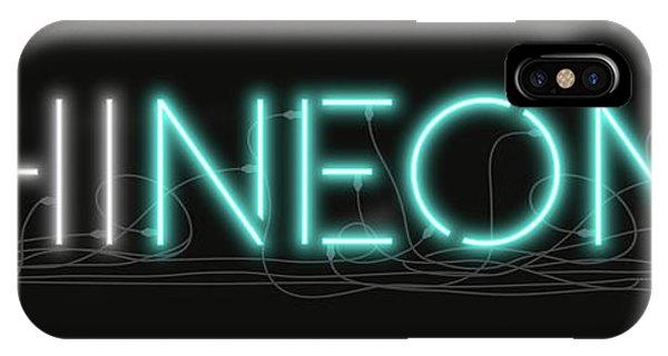 Shineonu - Neon Sign 1 IPhone Case