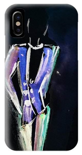 Simple iPhone Case - Shining Man  by Britta Zehm
