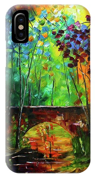 IPhone Case featuring the painting Shining Through by Kevin Brown