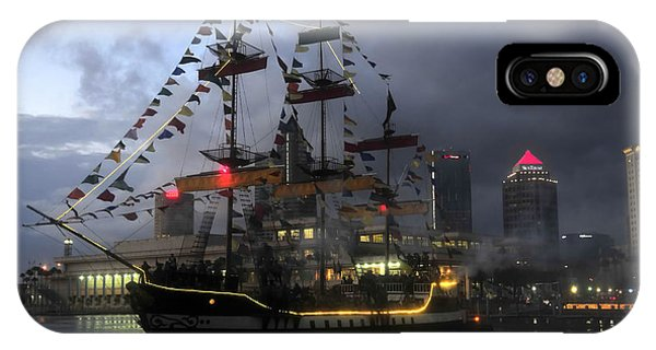 Ship In The Bay IPhone Case