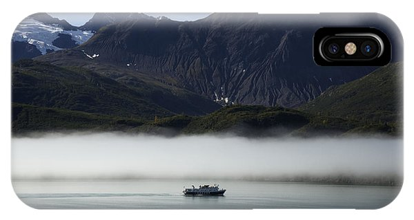 Ship In The Fog IPhone Case