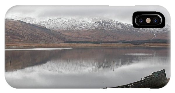 Ship Reck On Isle Of Mull IPhone Case