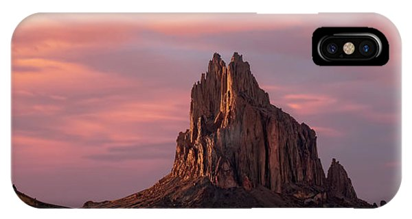 Shiprock At Sunset IPhone Case