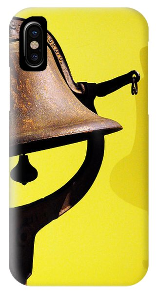 Bell iPhone Case - Ship's Bell by Rebecca Sherman