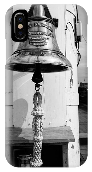 Ships Bell Uss Constitution IPhone Case