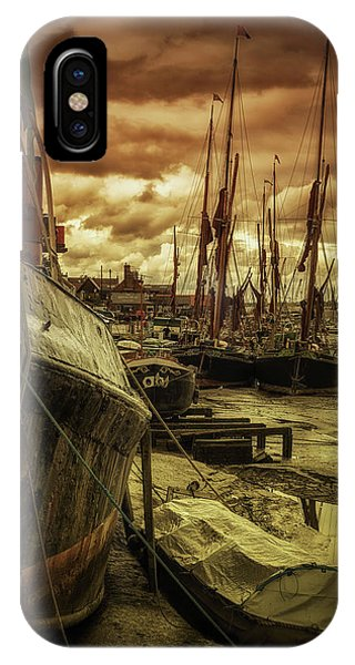 Ships From Essex Maldon Estuary IPhone Case