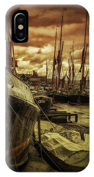 Ships From Essex Maldon Estuary IPhone Case