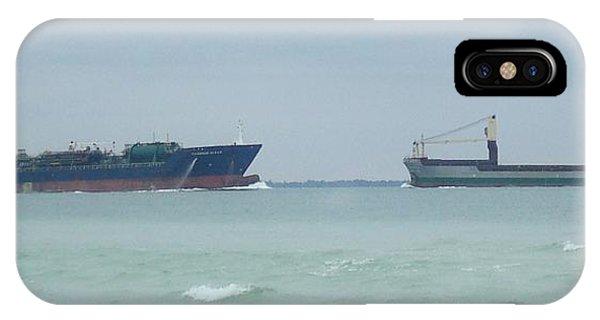Ships Meet IPhone Case