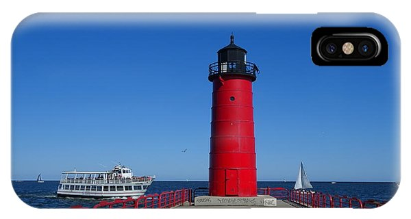 iPhone Case - Ships Passing In Plain Sight by Red Cross