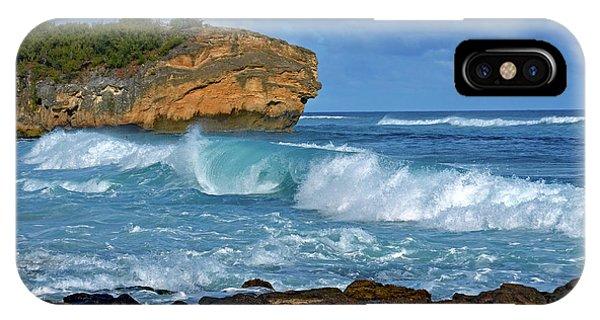 Shipwreck Beach Shorebreaks 2 IPhone Case
