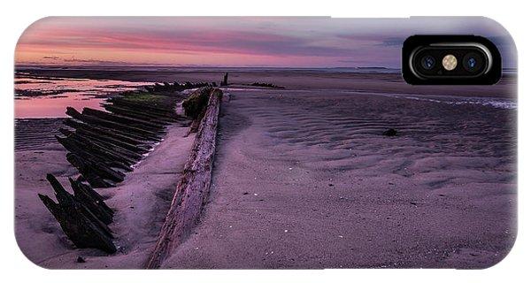 Shipwreck Sunrise  IPhone Case