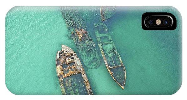 Shipwrecks IPhone Case