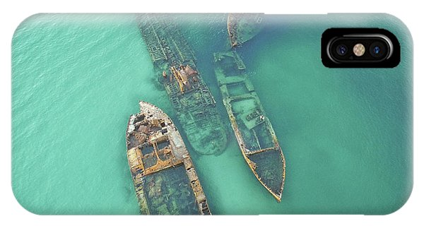 Shipwrecks IPhone Case