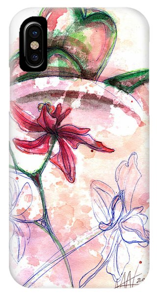 Shiraz Orchid II IPhone Case