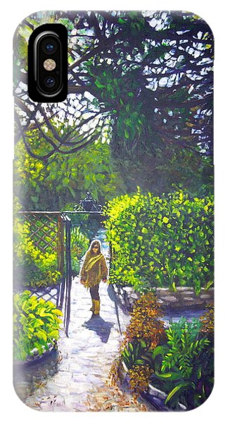 Shirley At Chalice Well IPhone Case
