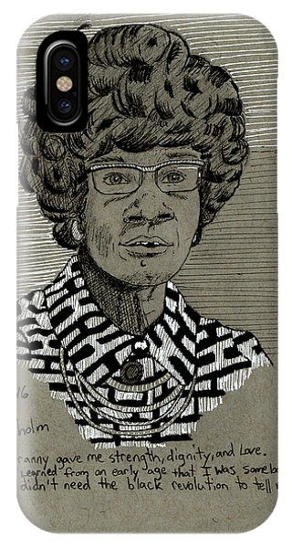 Shirley Chisholm IPhone Case