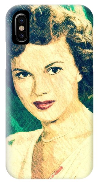 Shirley Temple By John Springfield IPhone Case