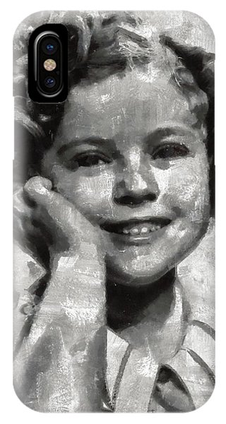 Shirley Temple By Mary Bassett IPhone Case