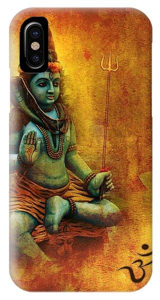 Shiva Hindu God IPhone Case