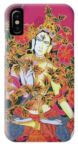 Shiva Shakti Yin And Yang IPhone Case