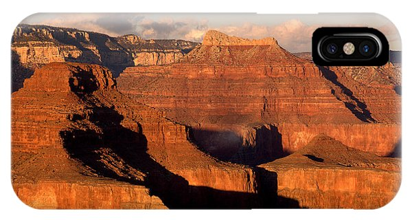 Shiva Temple  At Sunset Grand Canyon National Park IPhone Case
