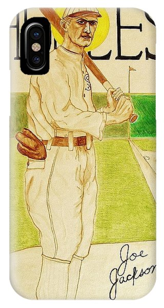 Shoeless Joe Jackson IPhone Case