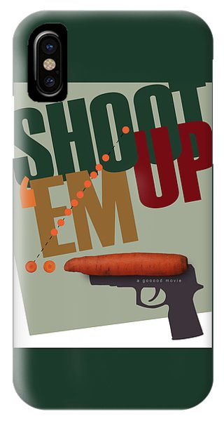 Shoot 'em Up Movie Poster IPhone Case