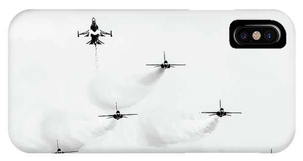 IPhone Case featuring the photograph Shoot Up by Ray Shiu