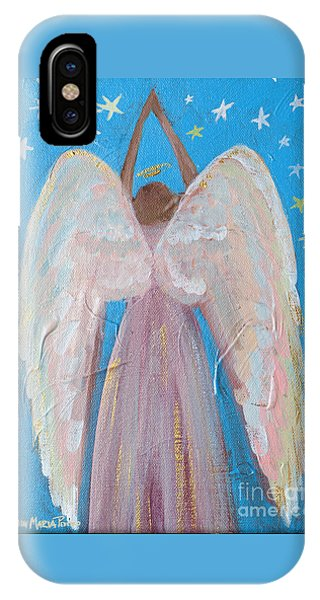 Shooting Star Angel IPhone Case