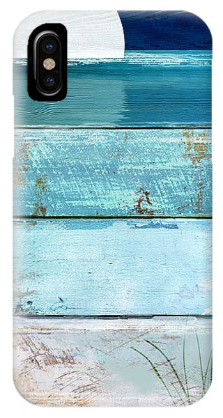 Shore And Moonrise IPhone Case