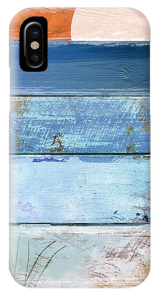 Shore And Sunset IPhone Case