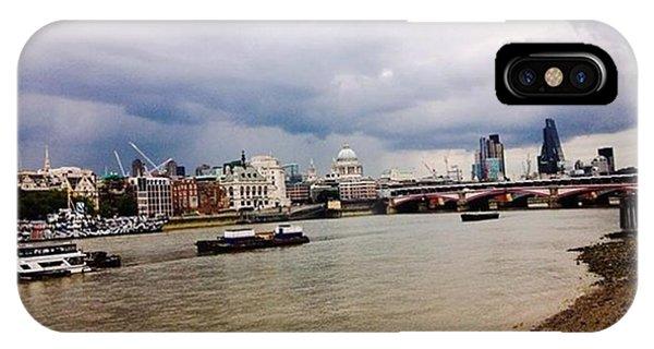 London Bridge iPhone Case - Shore #london #holidays #summer #beauty by Emmanuel Varnas