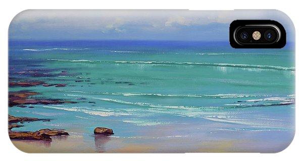 Coastal Landscape iPhone Case - Shoreline Colors by Graham Gercken