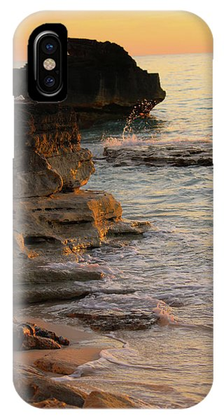 Shoreline In Bimini IPhone Case