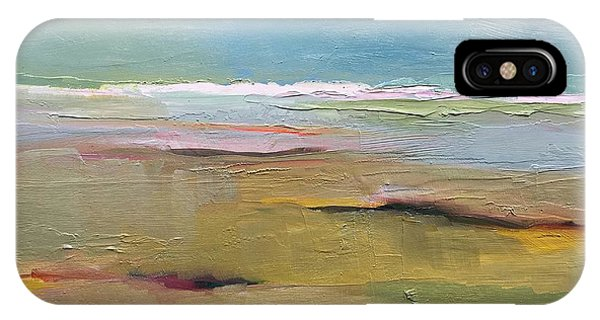 IPhone Case featuring the painting Shoreline by Michelle Abrams
