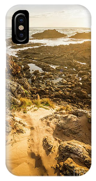 Seashore iPhone Case - Shoreline Sunshine by Jorgo Photography - Wall Art Gallery