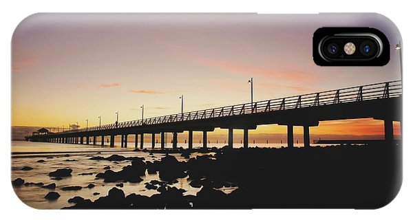 Shorncliffe Pier At Dawn IPhone Case