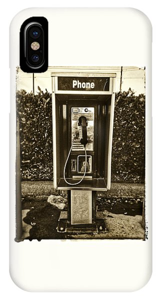 Short Stack Pay Phone IPhone Case