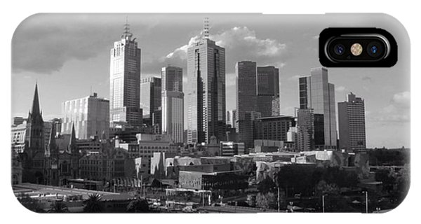 City Scape iPhone Case - #shot #street #city #canon #photography by Owen Hedley Photography