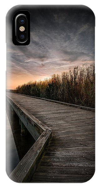 Shoveler Boardwalk IPhone Case