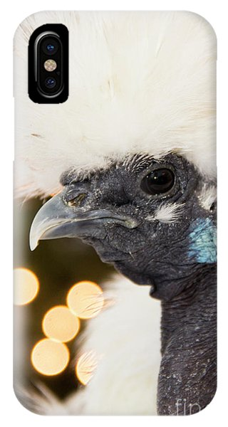 Showgirl A.k.a. Naked Neck Silkies IPhone Case