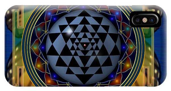 Shri Yantra 1 IPhone Case