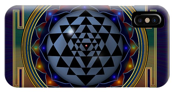 Shri Yantra IPhone Case