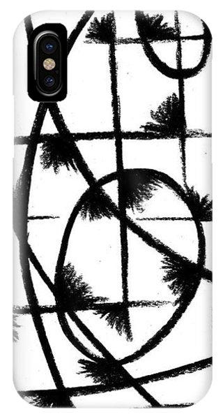 iPhone Case - Shriek II by Arides Pichardo