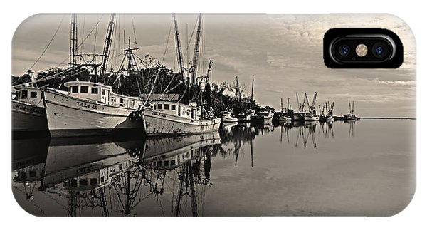 Shrimp Boats On The Altamaha IPhone Case