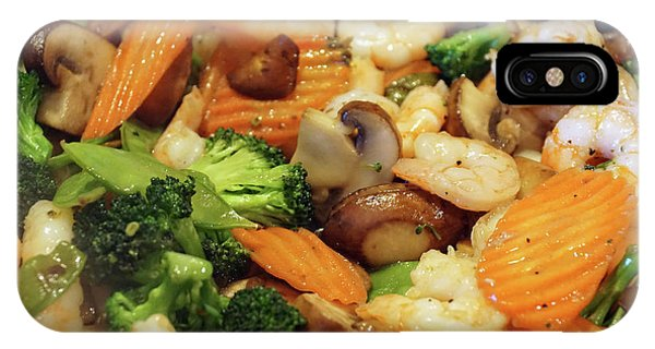 IPhone Case featuring the photograph Shrimp Stir Fry #1 by Ben Upham III