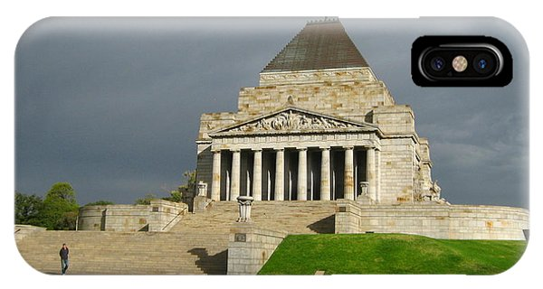 Shrine Of Remembrance IPhone Case